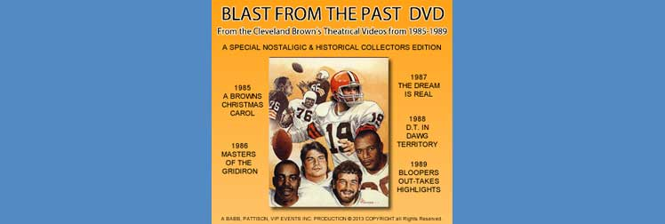 Cleveland Browns Blastfrom the Past DVD