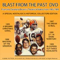 Browns Blast from the past DVD